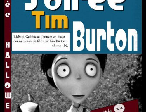 Soirée Tim Burton