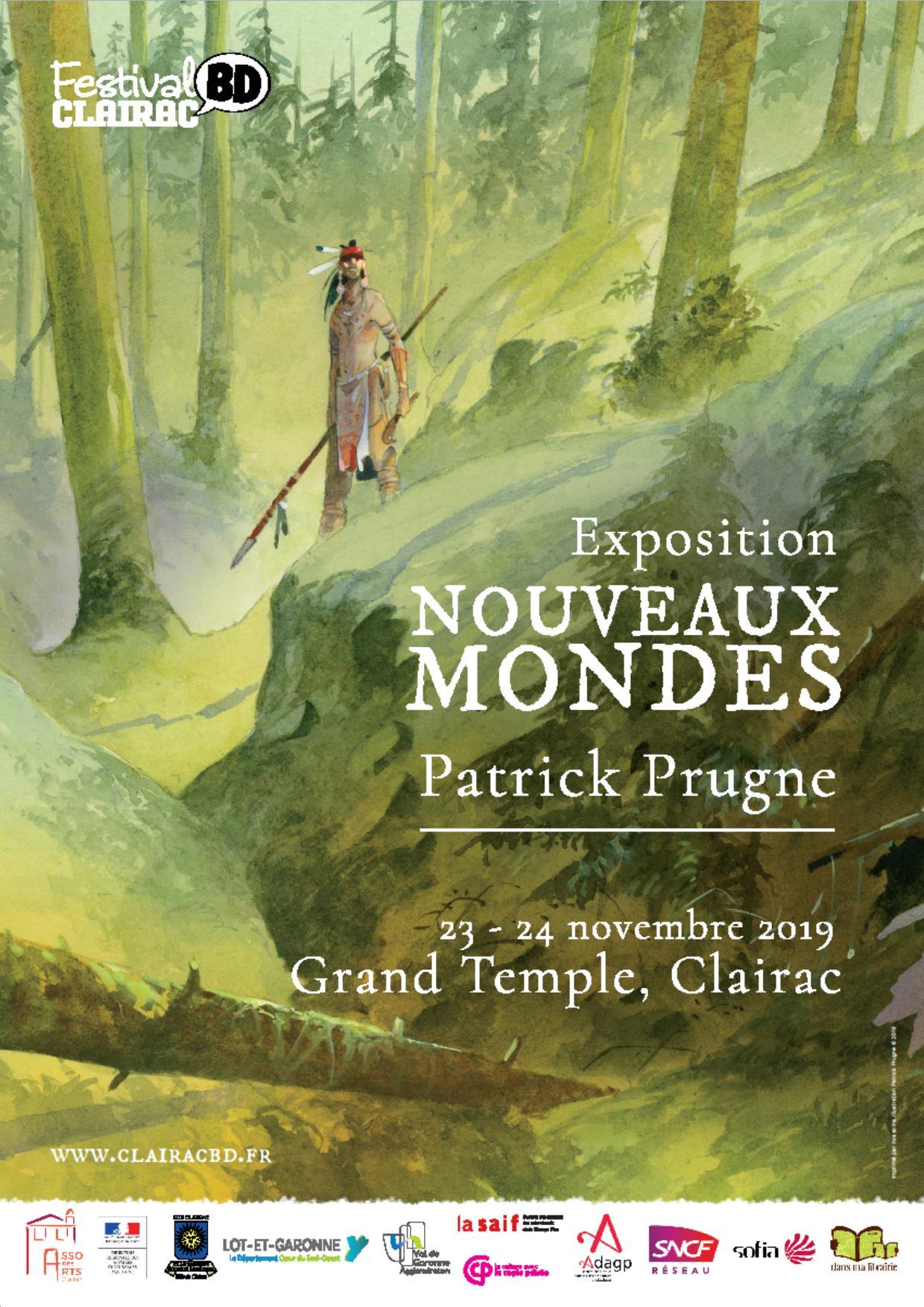 Expo Patrick Prugne au Temple